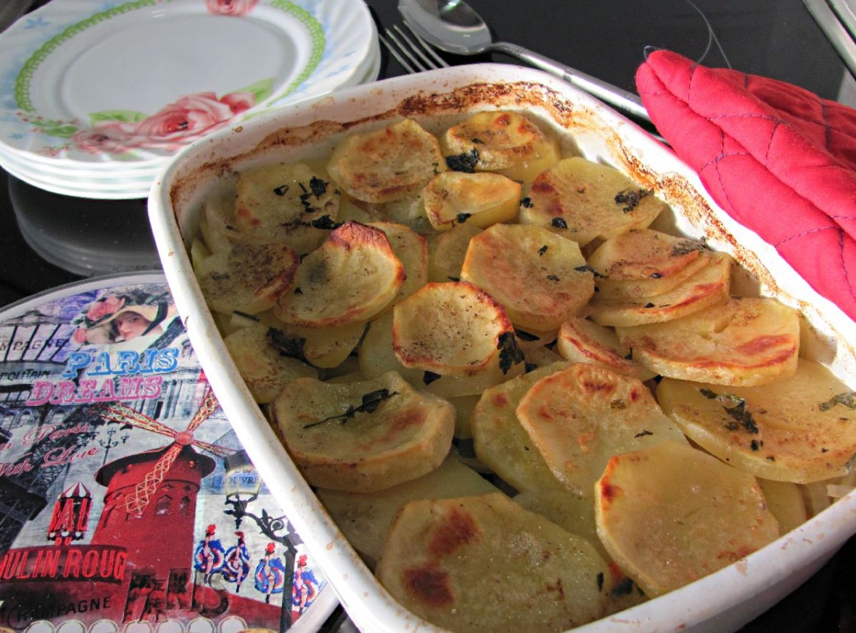 Картофель запечённый по-французски