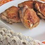 Курица на сковороде