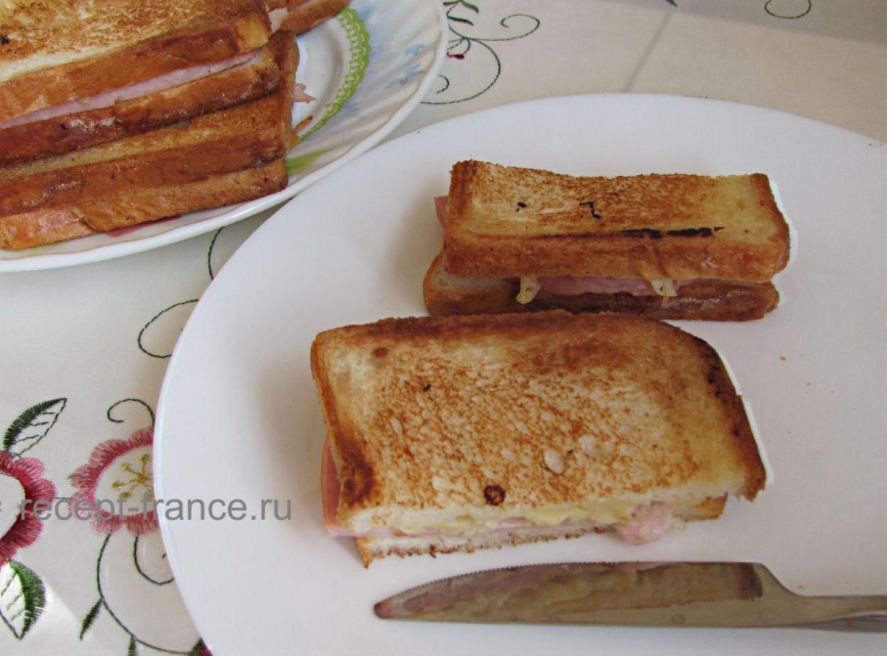 Сэндвичи «Крок-месье»