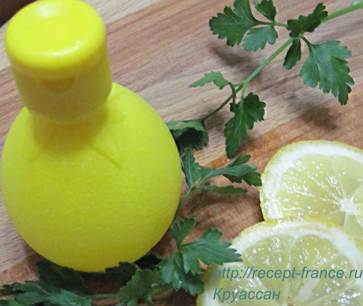 Лосьон из петрушки с лимонным соком