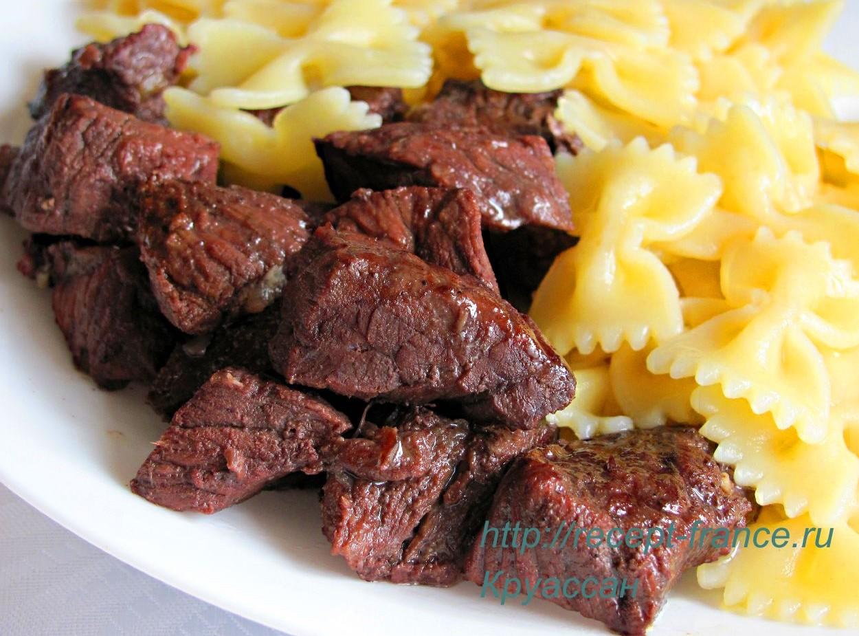 Доб по-провански – говядина тушенная по-французски
