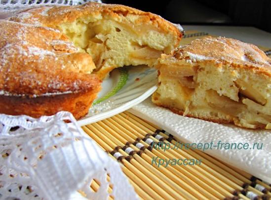 Яблочный пирог за 30 мин.