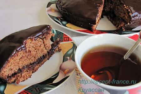 Простой и вкусный шоколадный пирог