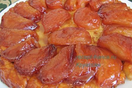 Тарт Татен — французский яблочный пирог