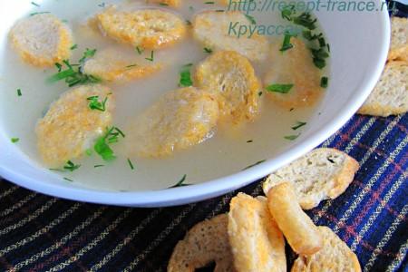 Сырный суп на скорую руку
