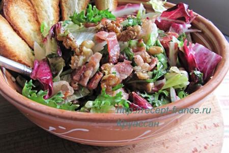 Ореховый салат