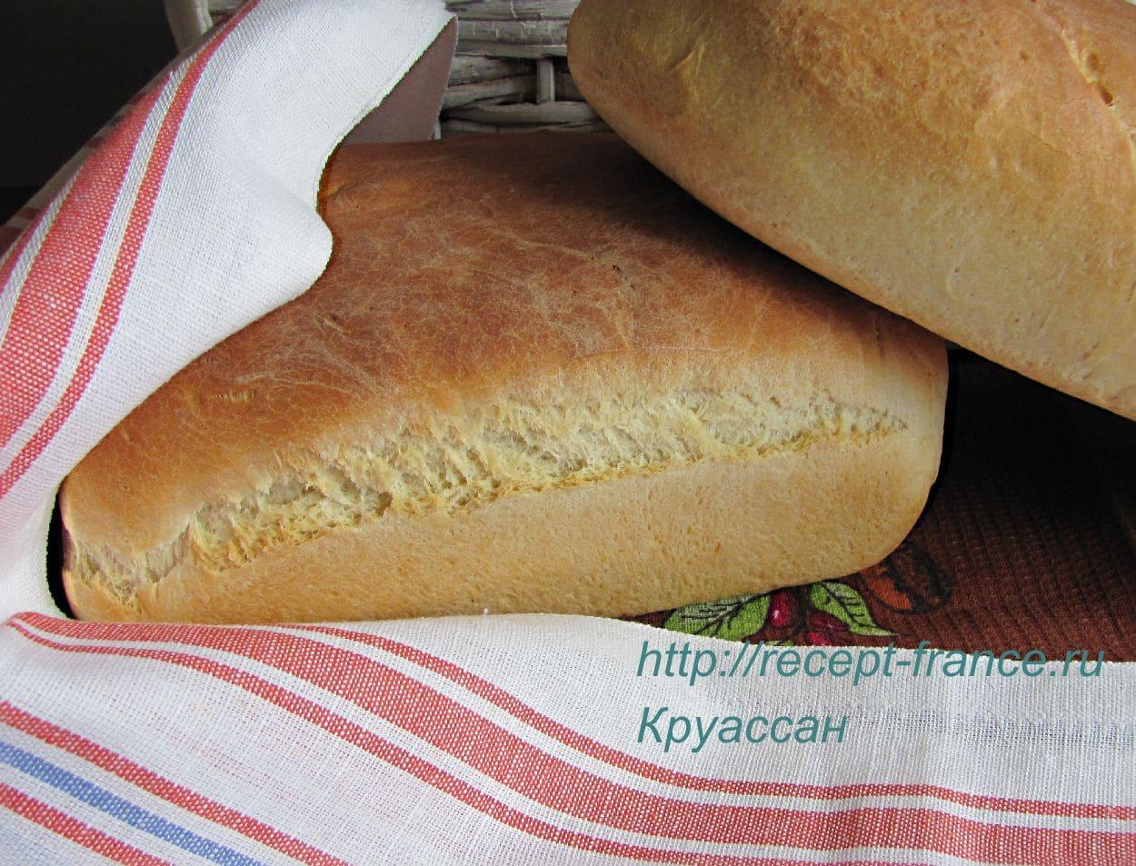 Рецепт французского хлеба