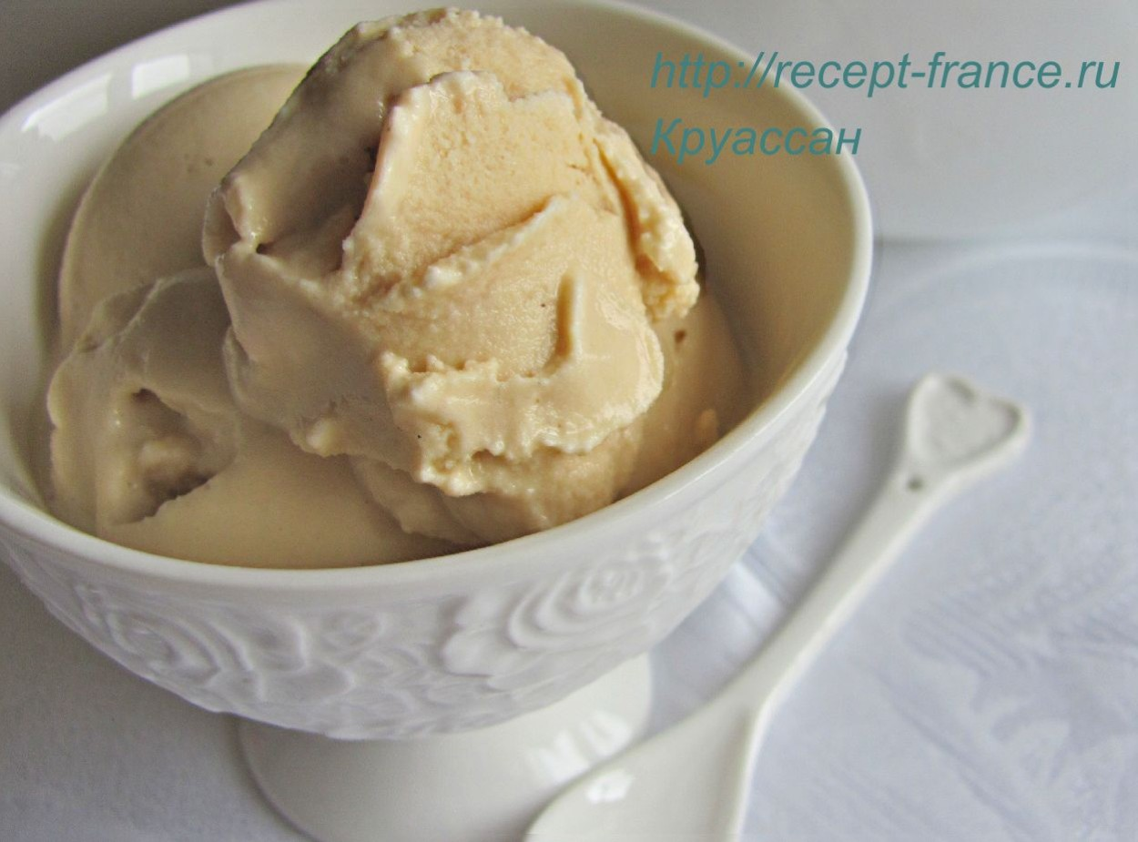 Карамельное мороженое