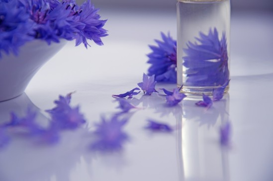 Васильковое масло
