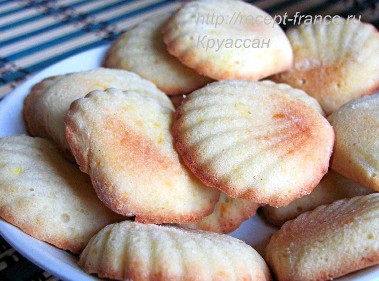 Печенье «Мадлен» — классический рецепт