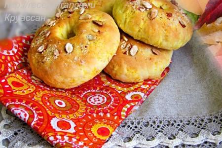 Выпечка из тыквы в русской кухне – тыквенные бублики