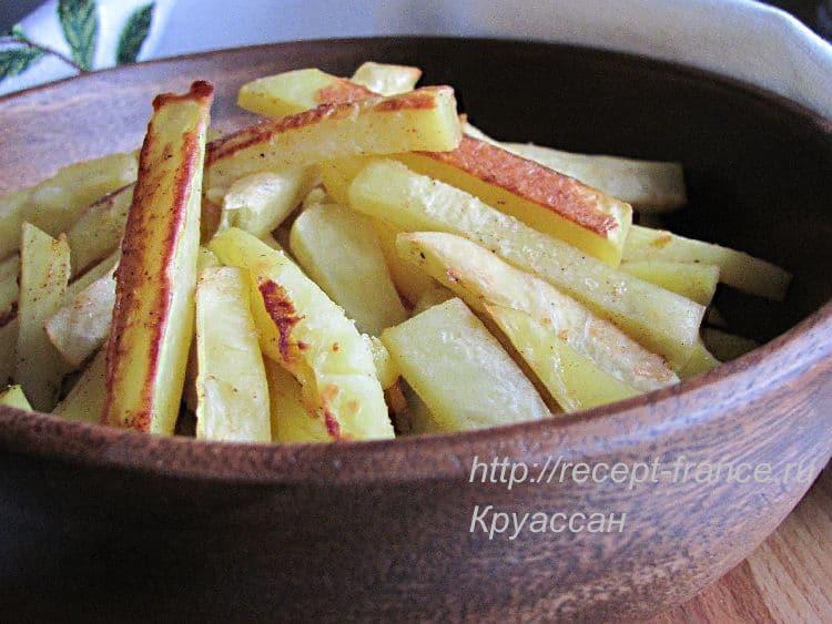 Запечённый картофель с паприкой