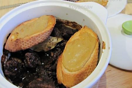 Карбонада из говядины по-фламандски – мясо в пиве