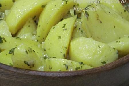 Картофель провансаль – картофель, тушённый в сливочном масле