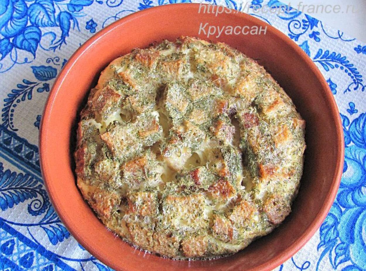 Дрочёна из яиц с ржаным хлебом и укропом