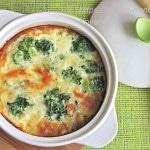 Брокколи с сыром в духовке