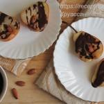 Запеченные груши с шоколадом