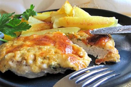 Нежное и сочное куриное филе по-французски