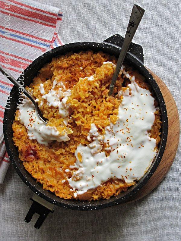 запеченный рис