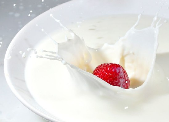 Умывание молоком