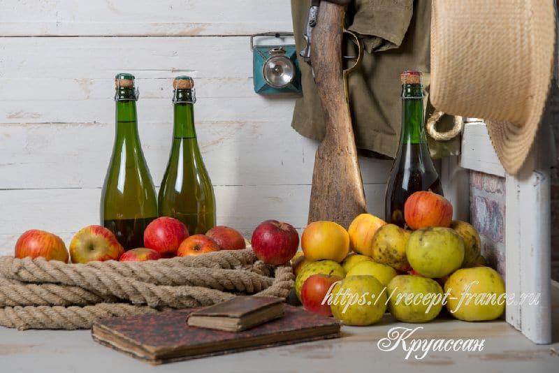 кальвадос, яблочный бренди