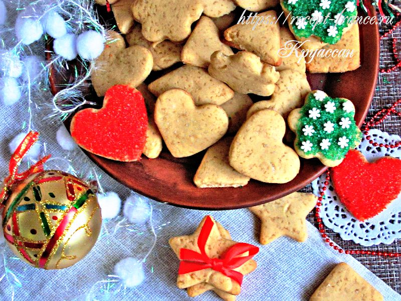 новый год, имбирное печенье