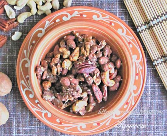 Запеченные орехи