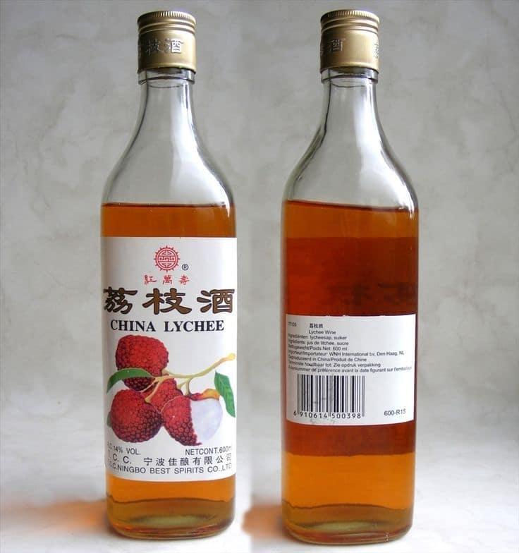 китайское вино из личи