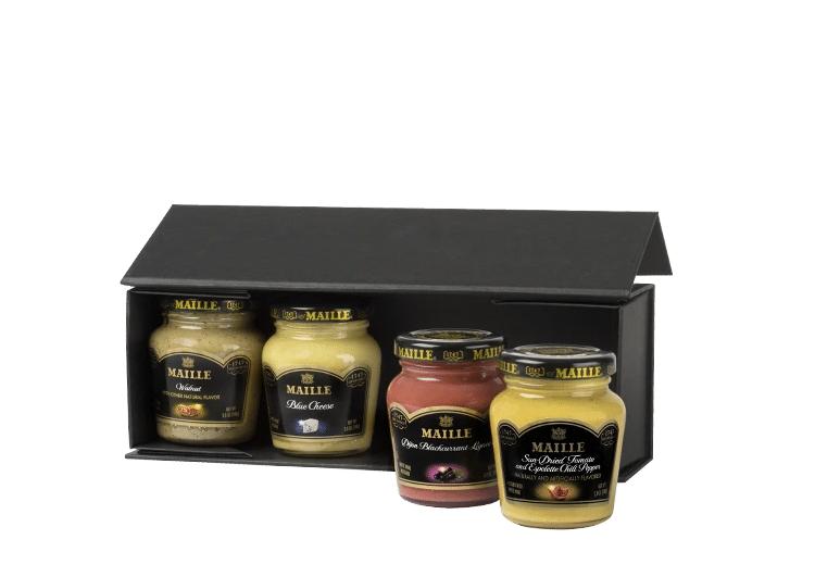 упаковка различных видов горчицы