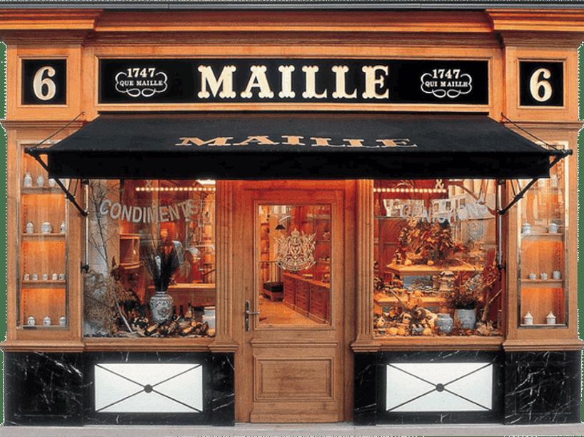 бутик горчицы Maille