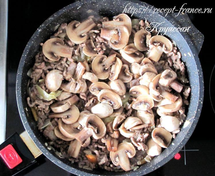 запеканка с фаршем и картофельным пюре приготовление