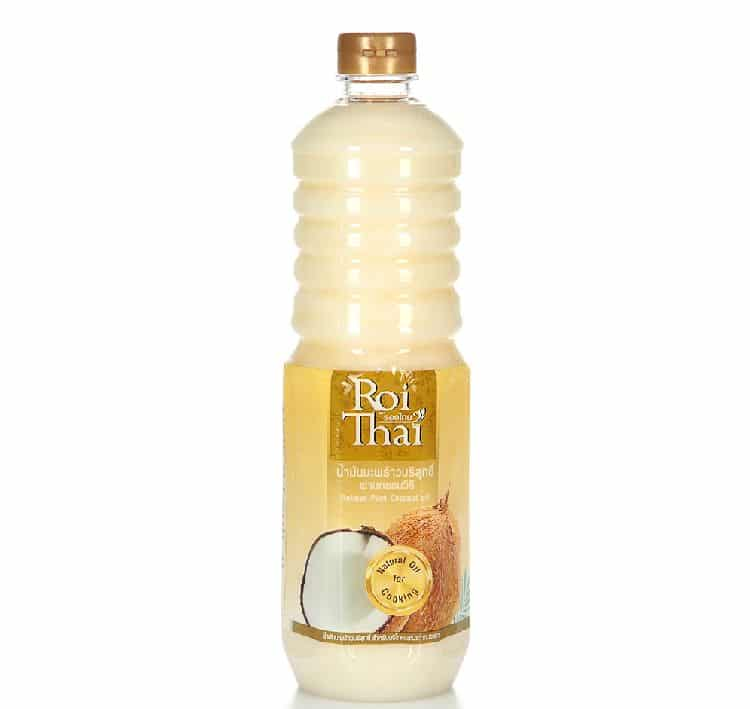 бутылка кокосового масла