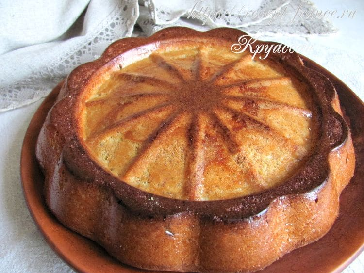 фисташковый пирог, приготовление