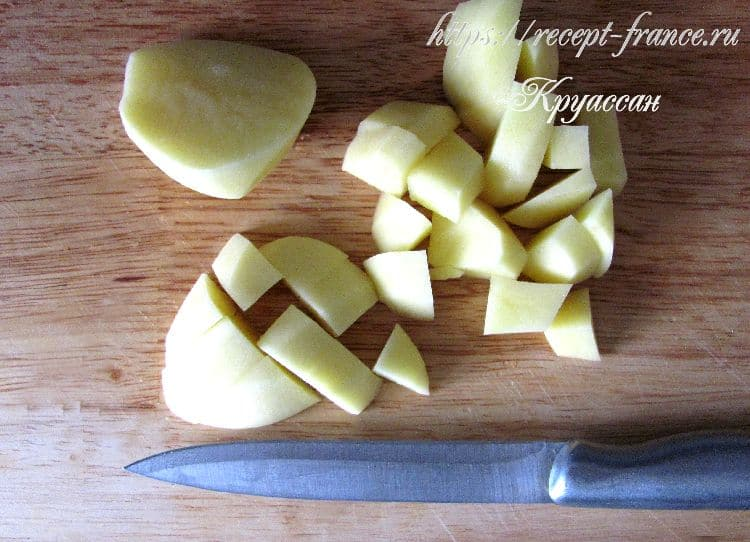 морковный суп с креветками - приготовление