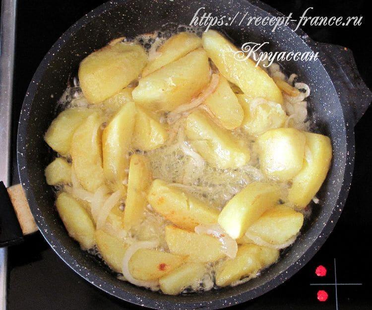 отварная картошка по-деревенски, приготовление