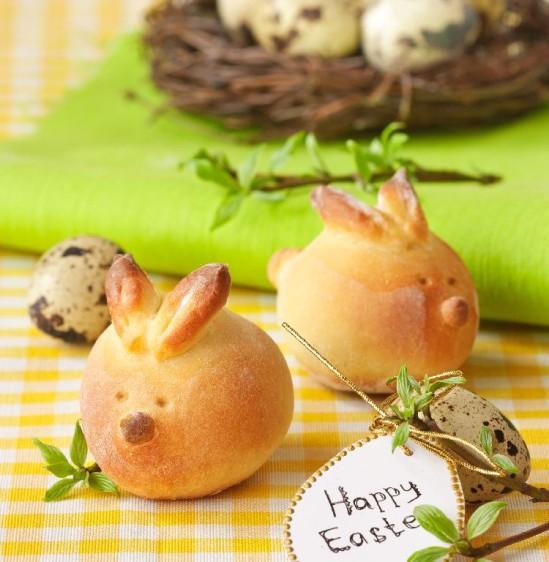 Хлебцы «Зайцы» к Пасхе
