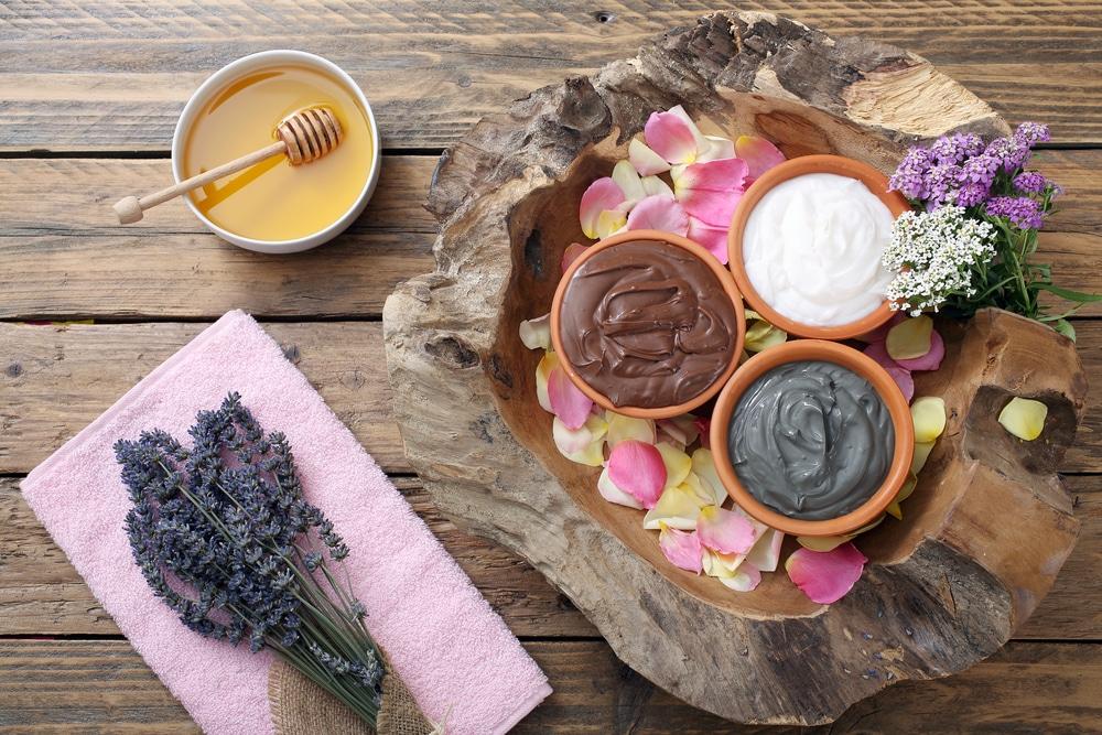 шоколад, мед, сливки для спа процедур