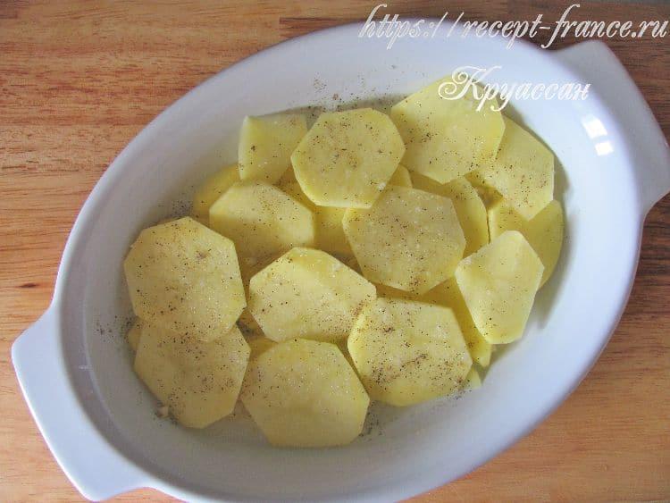 картофель по-французски приготовление