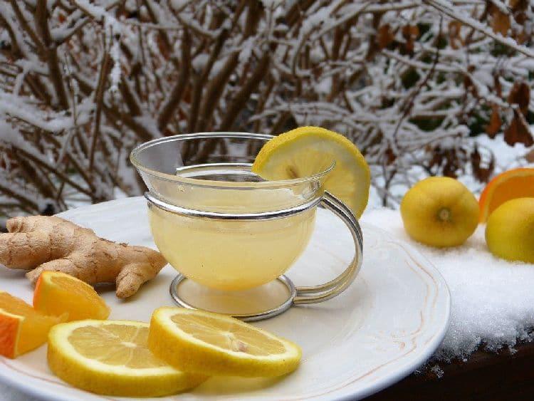 лимоны, имбирь