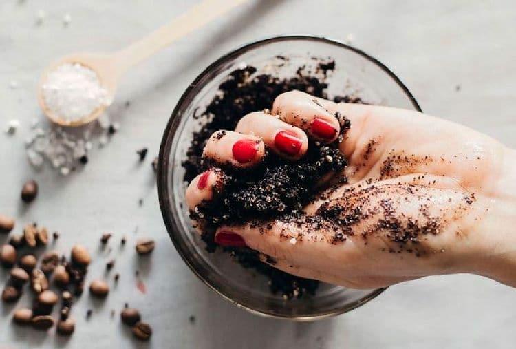кофейные скрабы для лица
