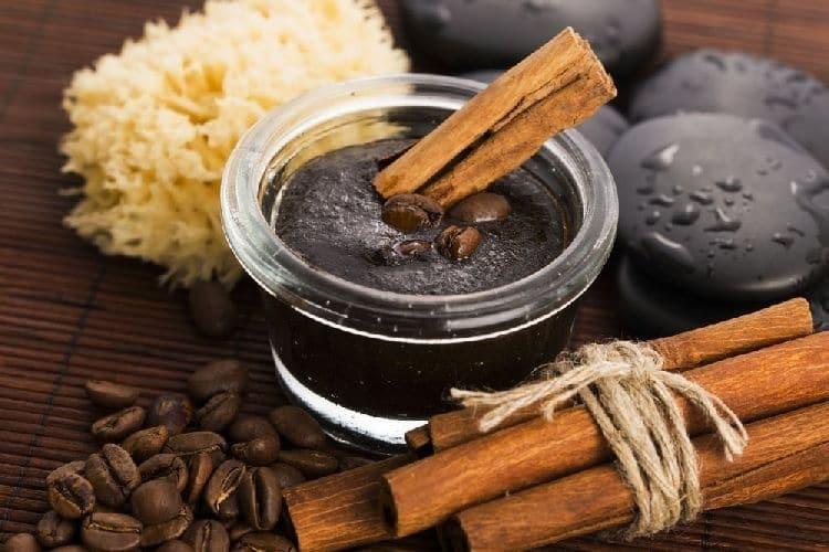 скрабы из кофе и корицы