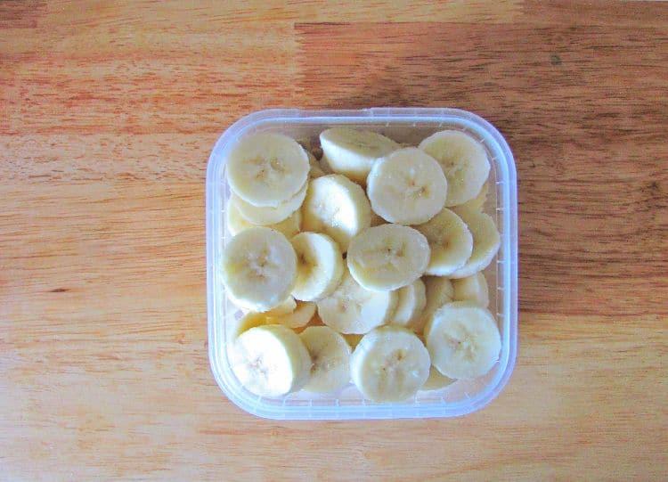 банановое мороженое - приготовление