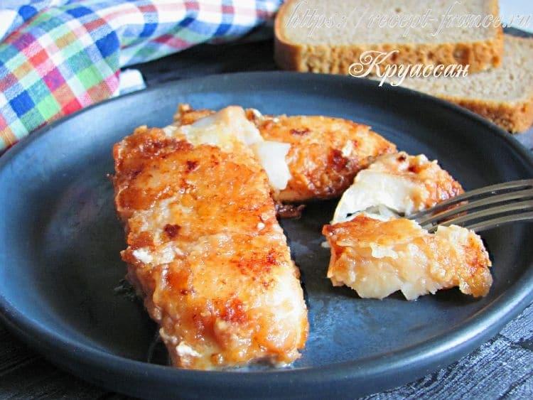 рыба в томатно-соевом маринаде