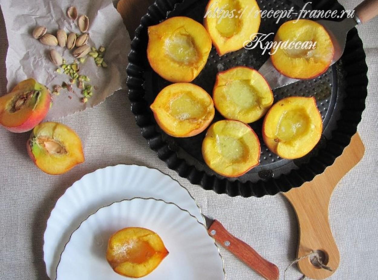 Запеченные персики – летний десерт