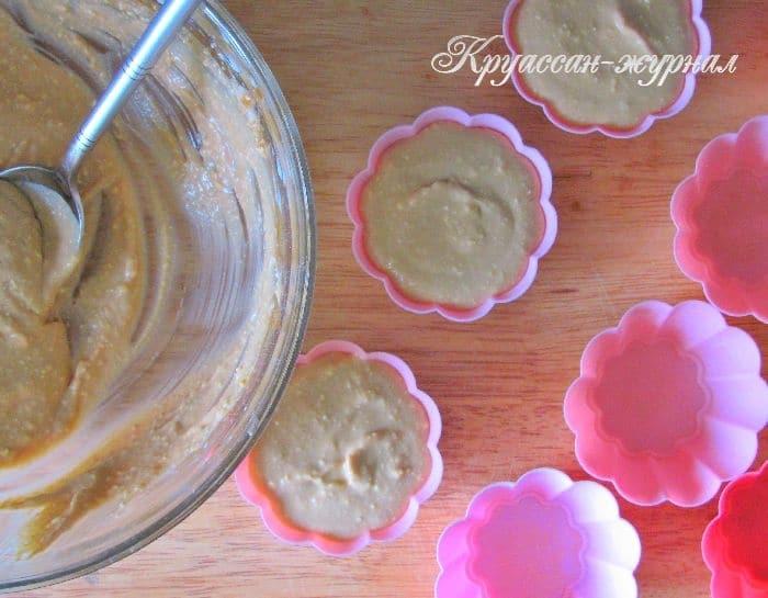 творожный десерт-приготовление