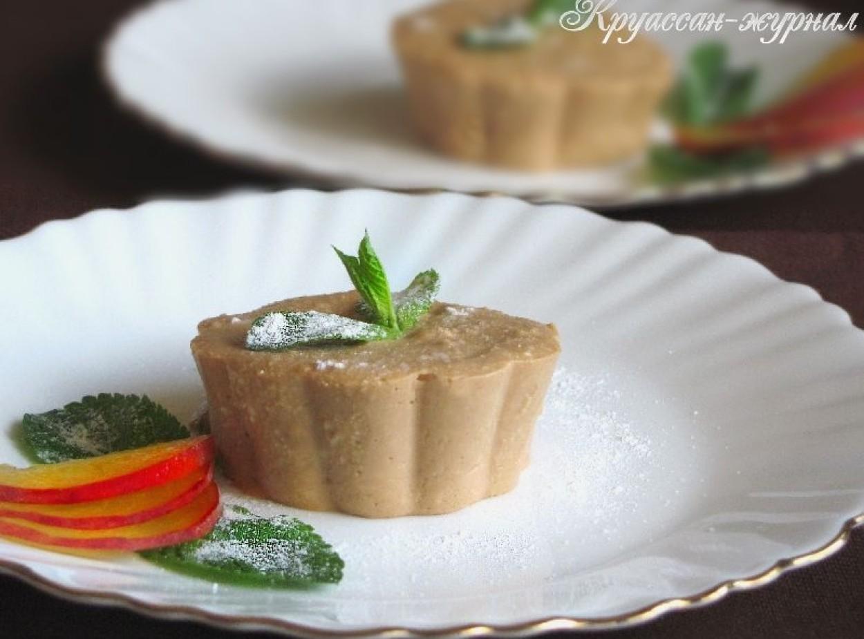 Холодный творожный десерт