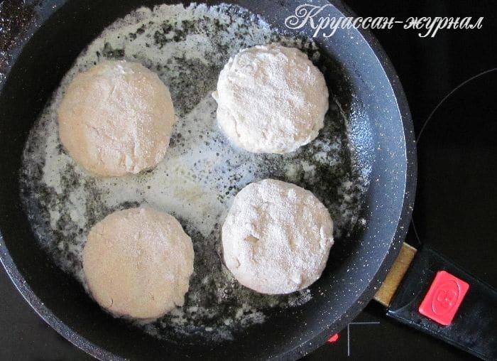 гречневые сырники-приготовление