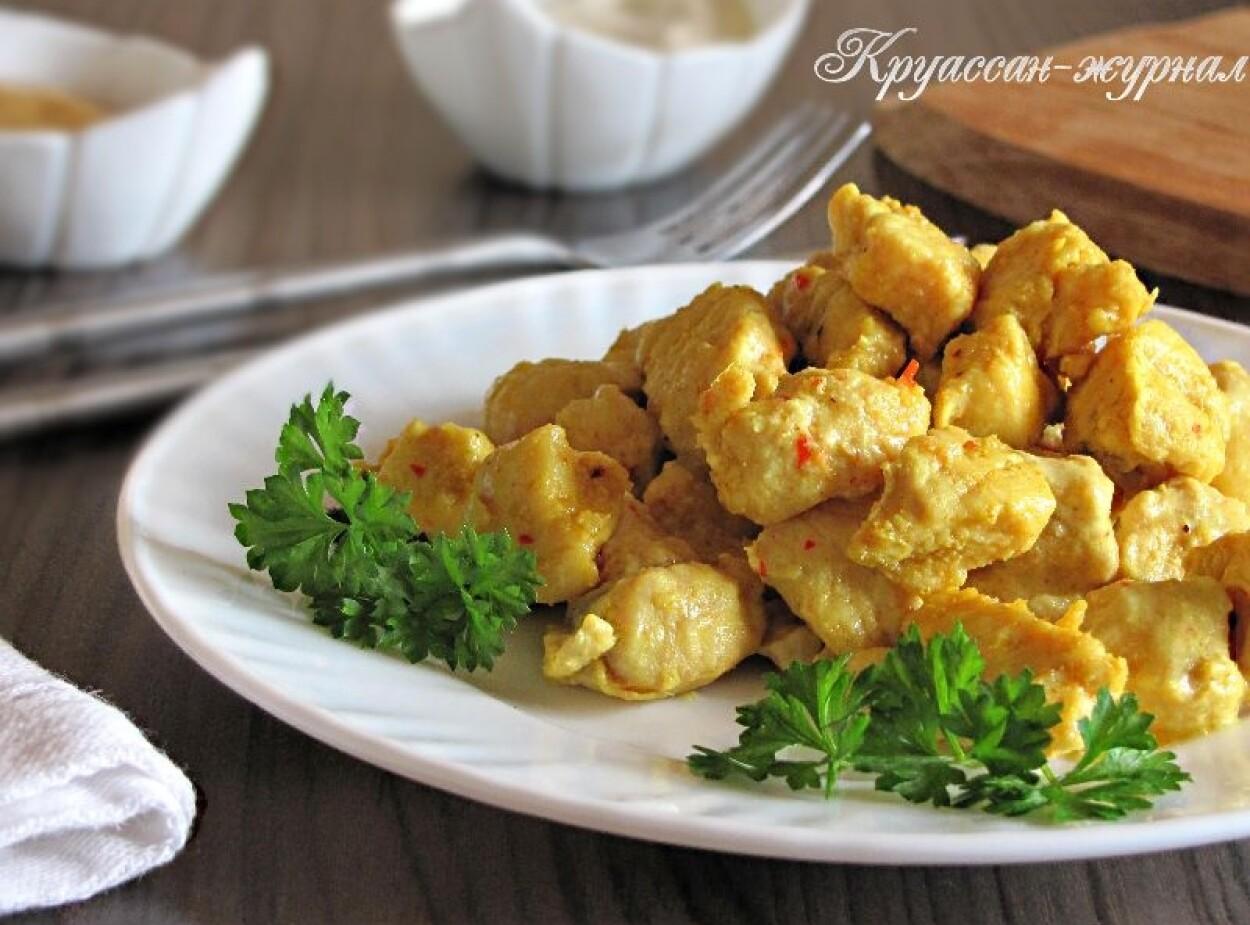 Куриное филе кусочками на сковороде – вкусно и быстро!