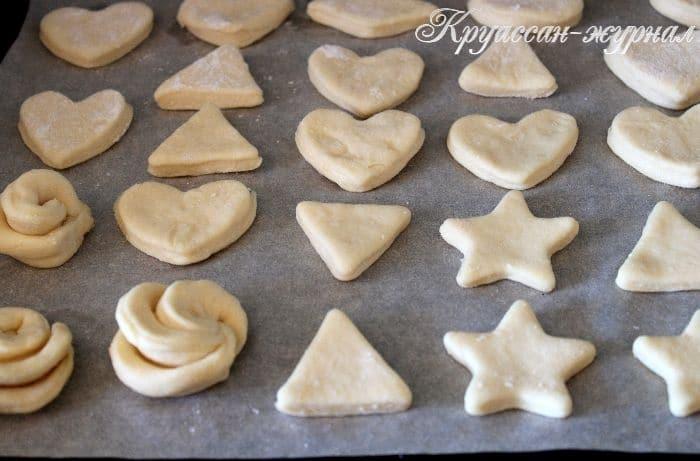 творожное печенье-приготовление