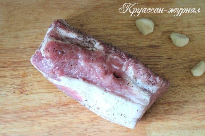 свинина в горчице, приготовление